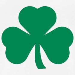 trèfle irlandais à imprimer en ligne pour la St Patrick