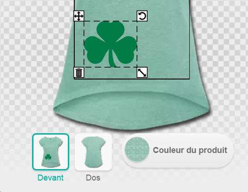 personnaliser son t shirt saint patrick tee shirts. Black Bedroom Furniture Sets. Home Design Ideas