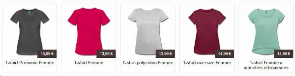 T-shirts femme à imprimer en ligne, créez votre t-shirt Shamrock.